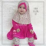 Harga Elbi Farah Legging Set Baju Muslim Anak Balita By Little Bee Boutique Dan Spesifikasinya