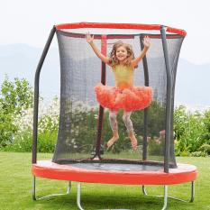 Elc 6ft Trampoline And Enclosure By Mothercare & Elc.