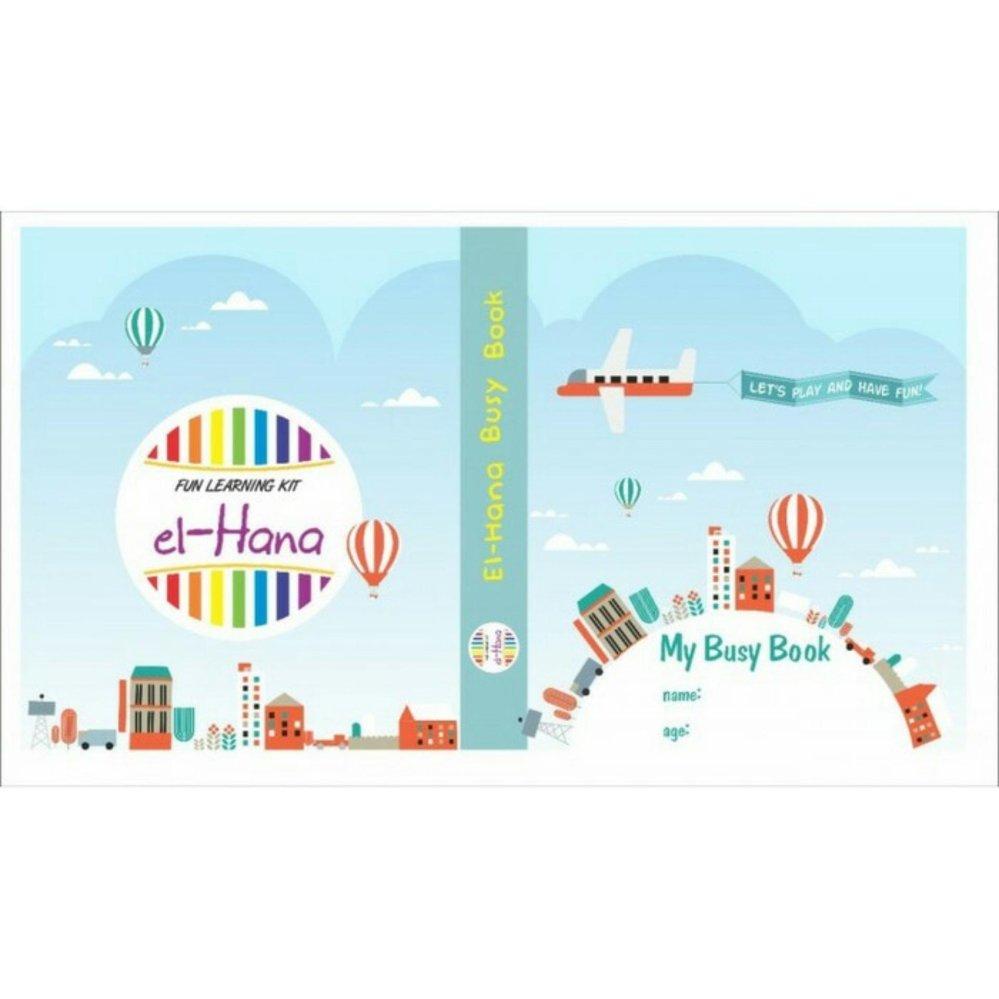 Elhana My Busy Book - Buku Aktivitas / Edukasi Anak
