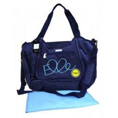 Jual Elle Diaper Sling Bag Biru Di Bawah Harga