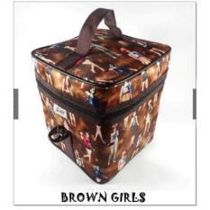 ELV COOLER BAG Z TWO / TEMPAT MENYIMPAN ASI BROWN GIRLS