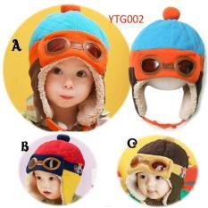 Jual Elv Korean Pilot Hat Topi Pilot Motif C Elv Original
