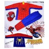 Harga Elv Kostum Spiderman Red Topeng Baju Anak Termurah