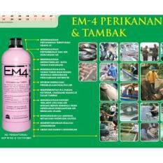 Em4 Perikanan U/ Pertumbuhan & Kesehatan Ikan Kolam- Tambak- Aquaponik - E9ce55 - Original Asli