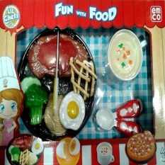 Emco Lil Chefz Food Box Set - Steak