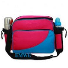 Toko Emwe Baby Bag Mini Tas Slempang Perlengkapan Makan Botol Susu Bayi Tas Selempang Tempat Makan Bekal Anak Lunch Baby Box Bag 2In1 Hotpink Online Jawa Tengah