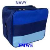 Jual Emwe Tas Perlengkapan Bayi Diaper Baby Bag Stripe 2 In 1 Baby Balita Popok Bag Organizer Ransel Travel Kado Melahirkan Lahiran Navy Di Bawah Harga