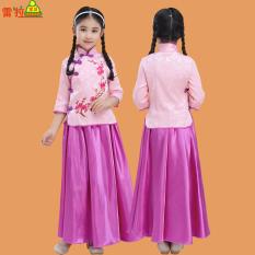 Jual Enam Puluh Satu Gadis Musim Panas Gadis Gaun Cheongsam Kostum Di Bawah Harga