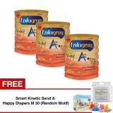 Spesifikasi Enfagrow A 3 Susu Formula Madu 800 Gr Tin Isi 3 Kaleng Gratis Smart Kinetic Sand Free Happy Diapers M 30 Random Motif Merk Enfagrow