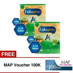 Harga Enfagrow A 4 Susu Vanila 1200 Gr Box Bundle Isi 2 Free Map Voucher 100K Online Jawa Barat