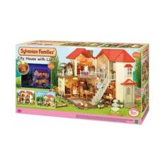 Epoch Sylvanian Families City House With Lights (Euro Ver)