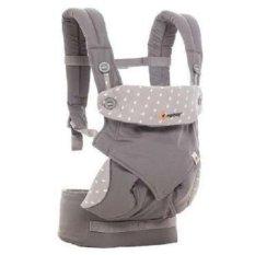 Spesifikasi Ergo Baby 360 New Motif Dewy Grey Ergo Baby