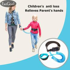 Harga Esogoal Anti Hilang Wrist Belt Link Safety Velcro Kulit Ramah Cotton Wrist Tali Untuk Balita Bayi Anak Anak Biru 1 5 M Paling Murah