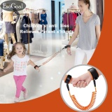 Harga Esogoal Anti Hilang Wrist Link Safety Velcro Kulit Rama Cotton Wrist Tali For Balita Bayi Children Orange 1 5 M Terbaru