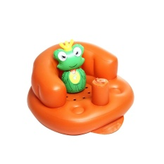 Etouch Multifunction Baby Inflatable Chair Kids Bathing Stools Children Gifts Portable - intl