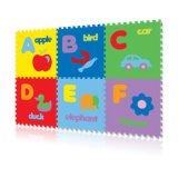 Spesifikasi Evamat Karpet Puzzle Abjad Gambar Alfabet A Z Matras Tikar Alas Bermain Serba Guna Merk Evamat