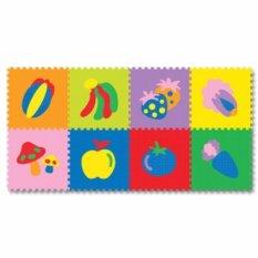 Harga Evamat Karpet Puzzle Gambar Buah Buahan Yg Bagus