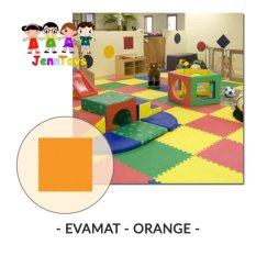 Evamat Polos Matras Tikar Karpet Puzzle Alas Lantai Evamat Orange Evamat Murah Di Dki Jakarta