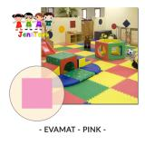 Toko Evamat Polos Matras Tikar Karpet Puzzle Alas Lantai Evamat Pink Online Dki Jakarta