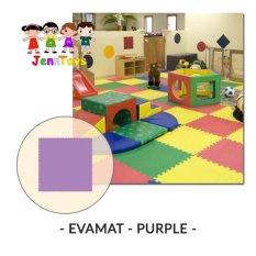 Evamat - Polos / Matras / Tikar / Karpet / Puzzle Alas Lantai Evamat - Purple