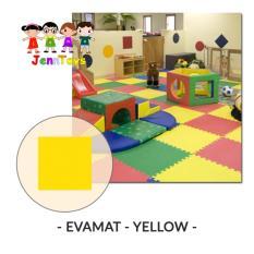 Evamat - Polos / Matras / Tikar / Karpet / Puzzle Alas Lantai Evamat - Yellow