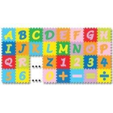 Evamat Puzzle Abjad Angka Mini By Tomindo.