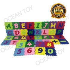 Evamats Abjad Mini Abc 123 Ukuran 15 X 15 Cm Isi 40Pcs Evazmj Ocean Toy Diskon 30