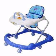 Review Toko Family Baby Walker 136L Kereta Bantu Jalan Bayi Biru Online