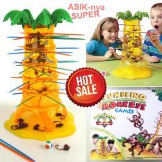 Promo Family Choice Mainan Asik Anak Edukasi Keseimbangan Tumbling Monkey Toys Jumbo Bersama Teman Keluarga Family Choice Terbaru