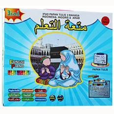 Family Playpad Anak Muslim Papan Tulis 3 Bahasa Indonesia Diskon 50