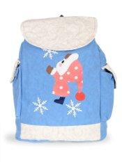 Farrel Cute Snow Girl Backpack - Blue