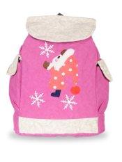 Farrel Cute Snow Girl Backpack - Pink