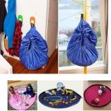 Harga Fashion 150 Cm Portable Kids Toy Storage Bags Dan Tikar Bermain Untuk Anak Anak Mainan Organizer Bag Box Biru Intl Asli Oem