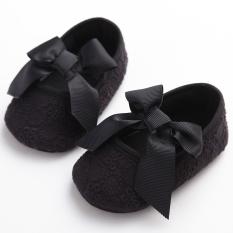 Dimana Beli Fashion Sepatu Bayi Perempuan Lembut Bagian Bawah Sepatu Putri For Usia 1 M 12 M Hitam Internasional Oem