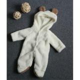 Ulasan Fashion Lahir Bayi Bayi Anak Gadis Romper Jumpsuit Berkerudung Bodysuit Outfits Pakaian Putih 3 6 Bulan Intl