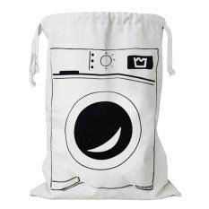 Fashion Cute Kartun Canvas Drawstring Storage Bag Kids Mainan Pakaian Buku Laundry Bag Organizer Keranjang untuk Anak-anak Room Nursery Home Dekorasi Mesin Cuci Gaya-Intl