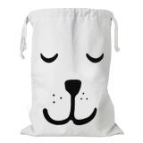 Harga Fashion Cute Kartun Canvas Drawstring Storage Bag Kids Mainan Pakaian Buku Laundry Bag Organizer Keranjang Untuk Anak Anak Room Nursery Home Dekorasi Sleeping Bear Style Intl Terbaik