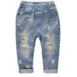 Fashion Celana Jeans Denim Laki Laki Merobek Jeans Kasual Katun Celana Anak Anak Ukuran S Intl Diskon Akhir Tahun