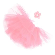 Fashion Bayi Baru Lahir Bayi Perempuan Jala Ikat Kepala Bunga Rok Dewasa Rok Tutu Dalam Fotografi Mm X 80mm untuk Alat Peraga