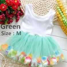Harga Hemat Fashion Lovely Balita Bayi Perempuan Putri Partai Tutu Renda Flower Gaun Rok Pakaian Intl