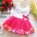 Spesifikasi Fashion Lovely Balita Bayi Perempuan Putri Partai Tutu Renda Flower Gaun Rok Pakaian Intl