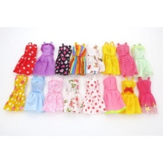 Fashion Party Dress Princess Gown Clothes Outfit for 11in Barbie Doll (Style Random) - intl