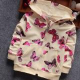 Ulasan Tentang Fashion Spring Butterfly Printed Girls Clothing Coat Dan Jaket Intl