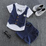 Beli Fashion Musim Panas Bayi Boys Plaid Pakaian Set Intl Oem