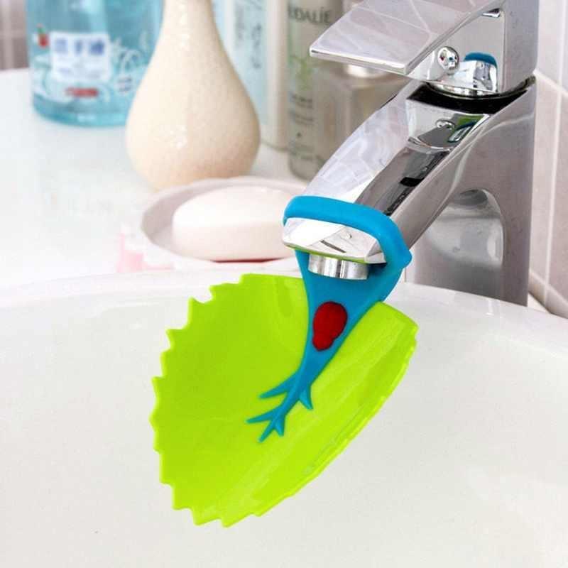 Faucet Daun Extender Aksesori Anak Balita Anak-anak Mencuci Tangan Di Kamar Mandi Sink-Intl