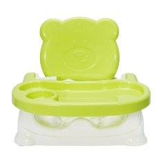 Kursi Makan Kursi Tinggi Rangkaian Mesin Cuci Piring Aman untuk Bayi/Balita Hijau-Intl