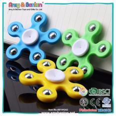 Fidget Spinner 5 Sisi Hand Toys Focus Games / Mainan Spinner Tangan Penghilang Kebiasan Buruk -