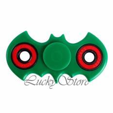 Lucky Fidget Spinner Batm4n Kelelawar Hand Toys Mainan EDC Ceramic Ball Focus Games - Hijau