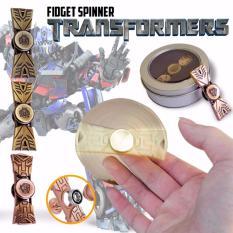 Fidget Spinner Hand Spinner TRANSFORMERS Premium Spiner Besi Transformer Metallic Aluminium Metal Alloy Ceramic Hybrid 2