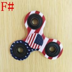 Fidget Spinner - Premium Quality New 2017 Motif Army Flag Usa Uk Glow - Cbd36b - Original Asli